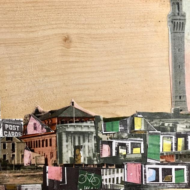 street scene collage