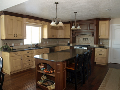 kitchen 4 S AND J CABINETS payson