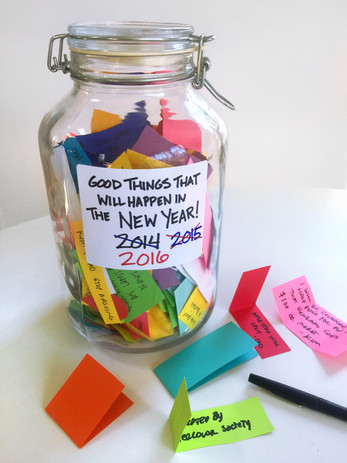New Years Wish Jar