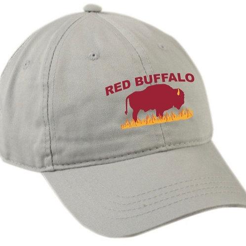 Men's Red Buffalo Land Stewardship Cap