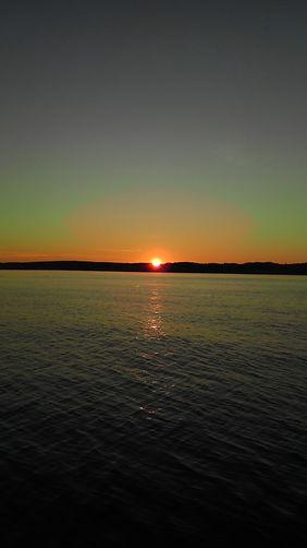 Michigan Inland Lake Sunset