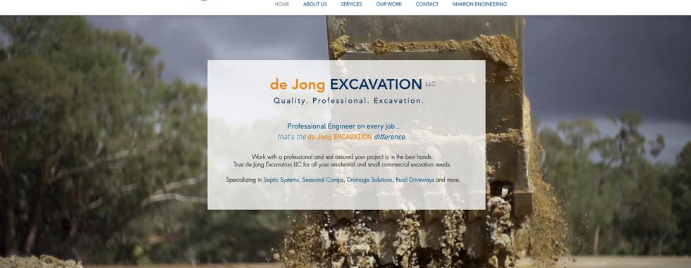 de Jong Excavation