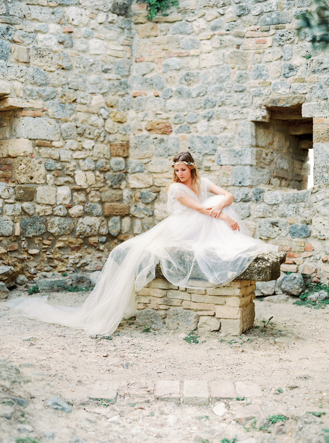 BRIDAL INSPIRATION FROM TUSCANY