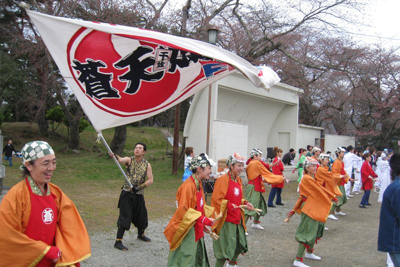 20100411_柴田桜祭り&よさこい-011