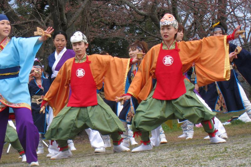 20100411_柴田桜祭り&よさこい-005