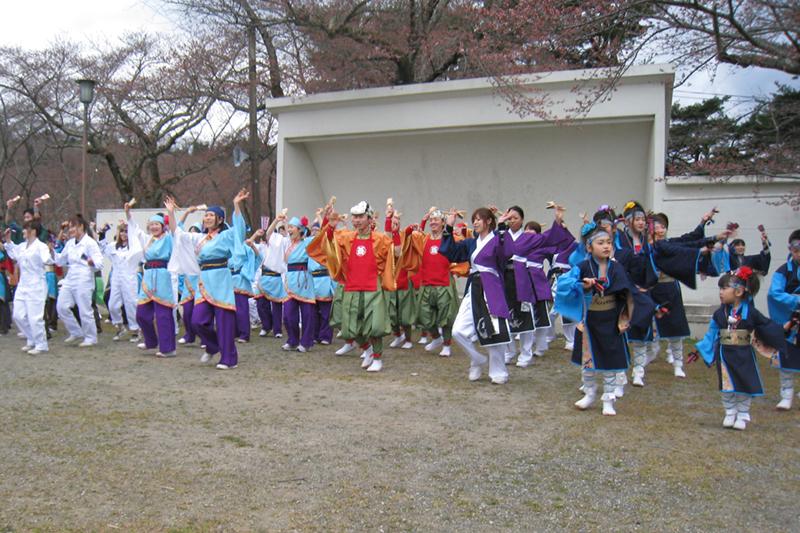 20100411_柴田桜祭り&よさこい-002
