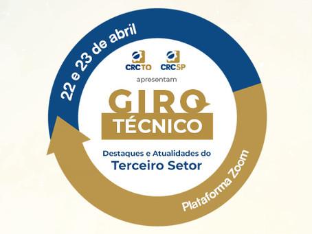 CRCTO e CRCSP apresentam Giro Técnico