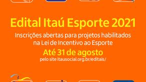 Itaú Unibanco abre inscrições para 3ª edição do Edital de Esportes