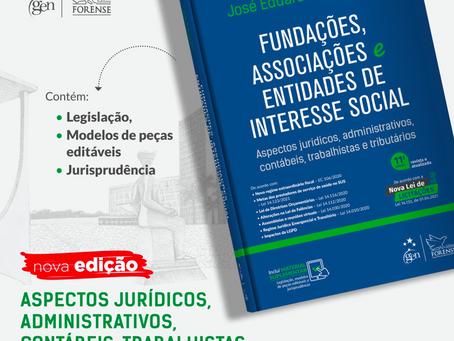 Dr. Sabo Paes lança 11ª edição do livro Fundações, Associações e Entidades de Interesse Social