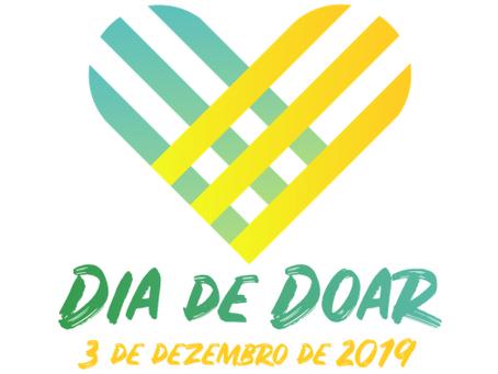 Dia de Doar será em 3 de dezembro
