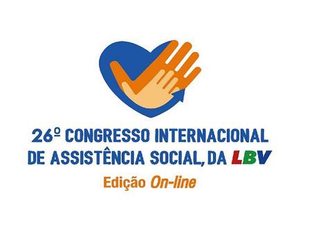 Vem aí o 26º Congresso Internacional de Assistência Social