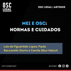 MEI e OSC: normas e cuidados