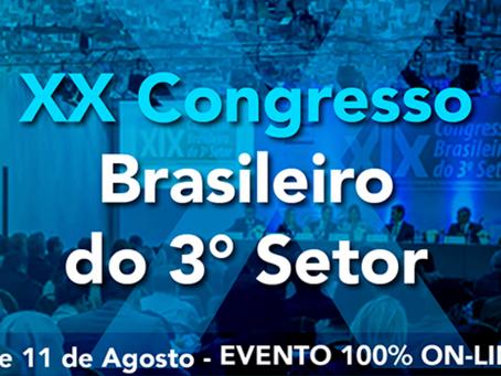 XX Congresso Brasileiro do 3° Setor