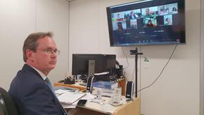 Professor Sabo Paes participa de audiência pública sobre assistência social no DF