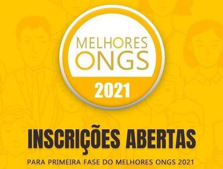 Inscrições abertas para o Prêmio Melhores ONGs 2021