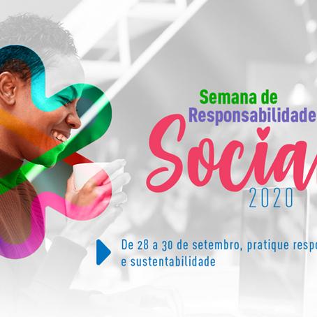 Instituto Bancorbrás promove a 10ª Semana de Responsabilidade Social