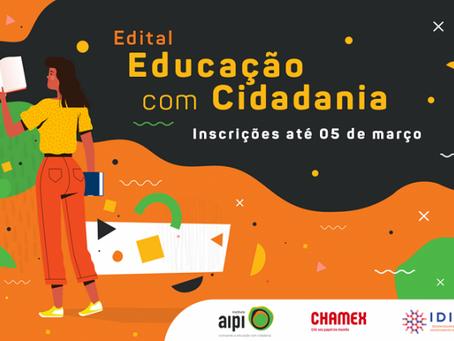 Instituto AIPI lança edital para captação de projetos na área da Educação