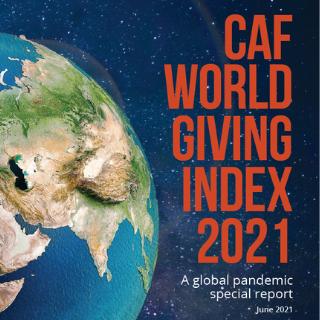 WGI 2021 mostra as mudanças no mapa de doações no mundo