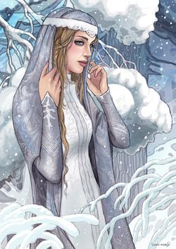 zimowa postać