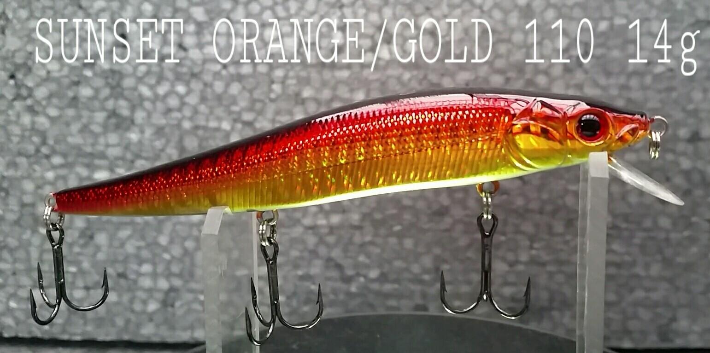 Sunset Orange/Gold