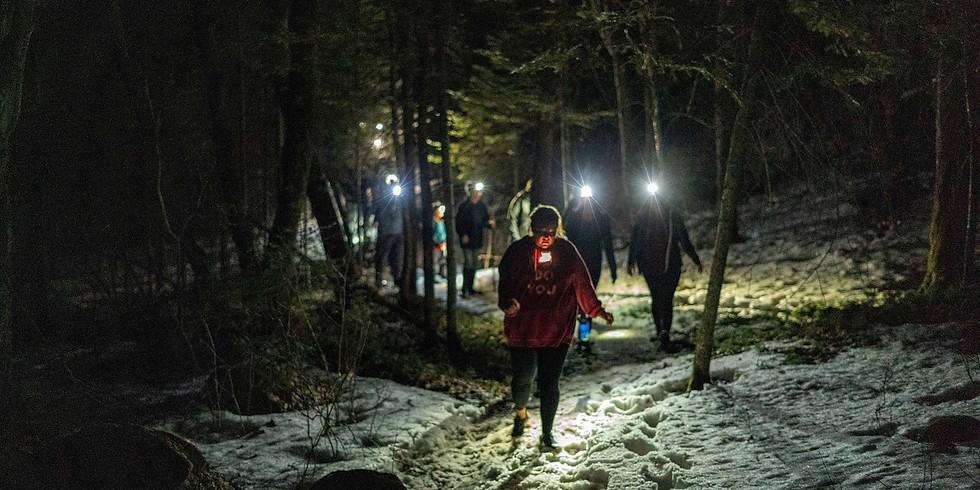 Moonlight Hike/ Bon Fire Near Chisholm/ Sturgeon River Trails