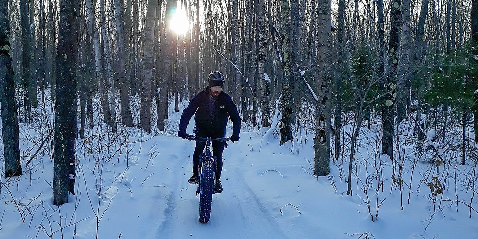 Fat Bike Ride At The Divide
