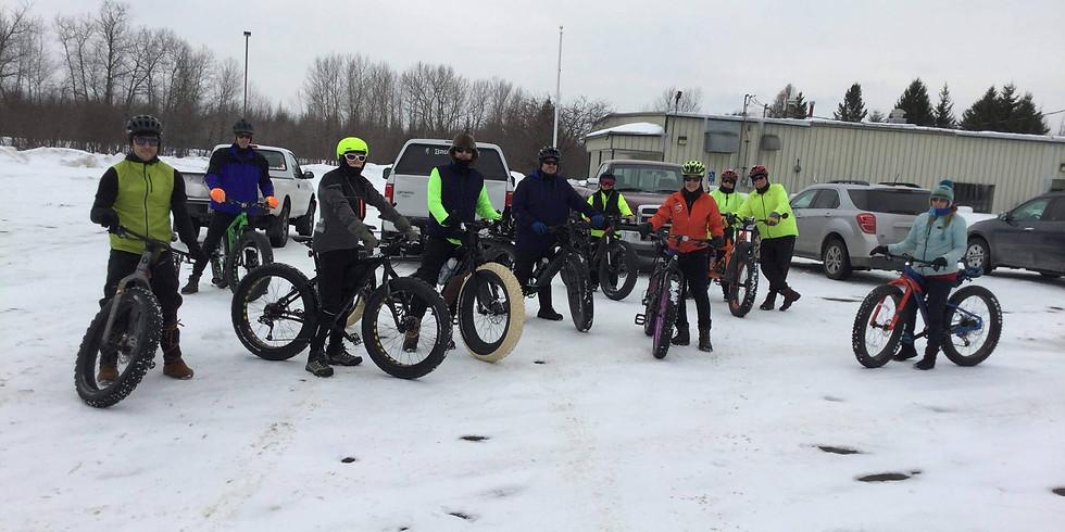 Fat Bike ride through the Sax/Zim Bog