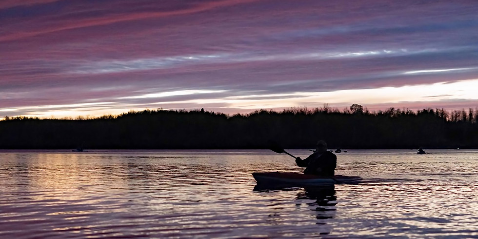 Sunset and Full Moon Paddle