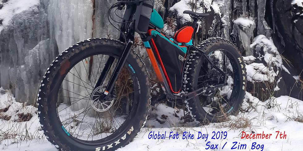 Global Fat Bike Day Ride in the Sax/Zim Bog