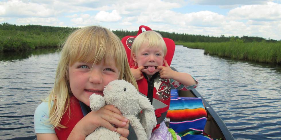 Vermilion River Two Night Family Canoe/Kayak Trip