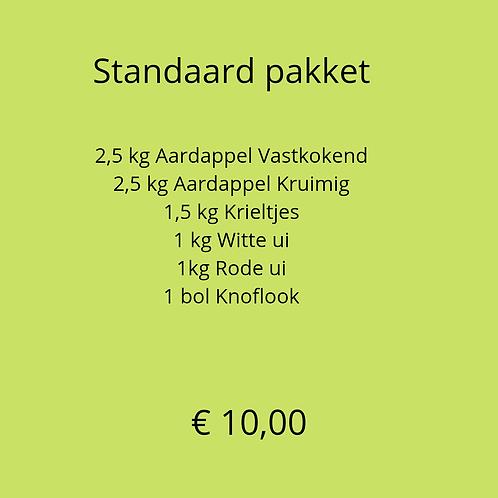 Standaard in de keuken pakket