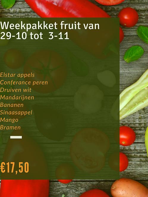 Weekpakket fruit