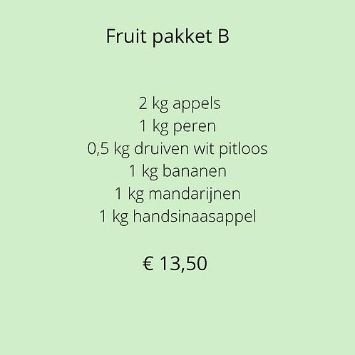 Fruitpakket B