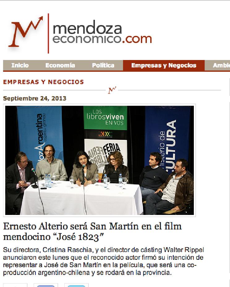 Nota en Mendoza Económico