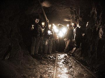Galerías de la mina en Paramillos