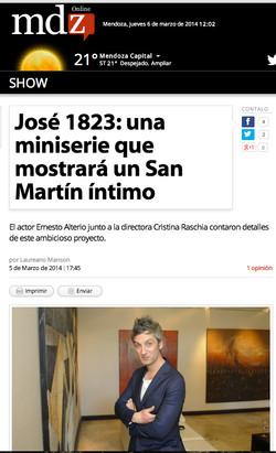 Nota en Diario Mdz