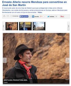 Nota en Diario Uno