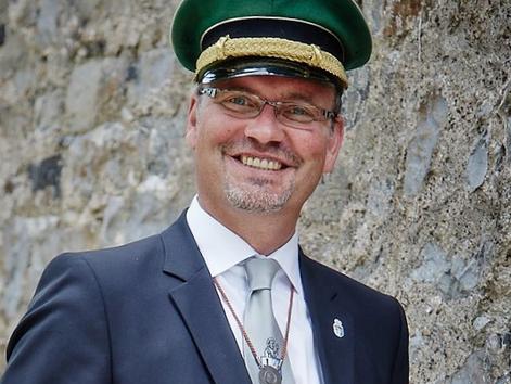 Thomas Buchmann kandidiert für das Amt des Kreisoberst