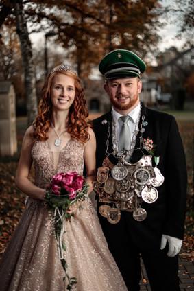 Königspaar 2019 - 2020 - Jana Rickenbrock und Daniel Dembinski