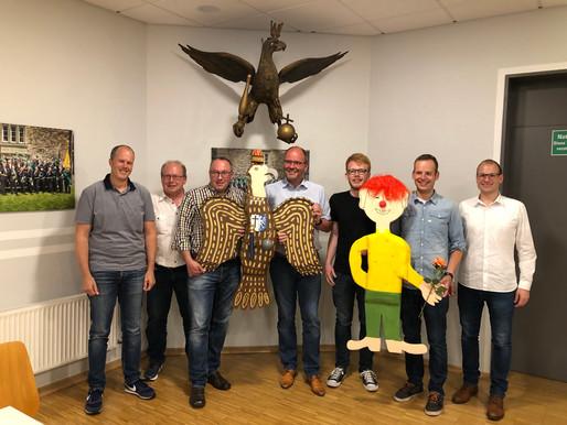 Gesamtvorstandssitzung mit Vogelpräsentation 2019