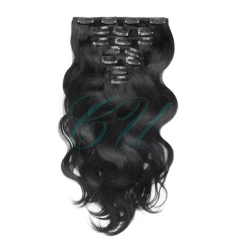 Mink Body Wave Clip Ins