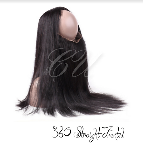 Mink Straight 360 Frontal