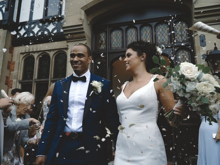 Gemma and Warren's elegant wedding video at Tyn Dwr Hall, Llangollen, North Wales