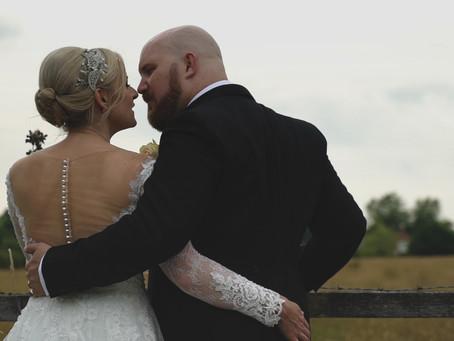 Sarah & Gareth's stunning intimate wedding