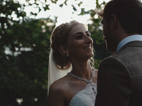Kate and Matt's beautiful country wedding