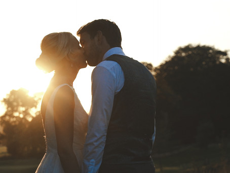 Victoria and Liam's stunning wedding held at Haigh Hall, England