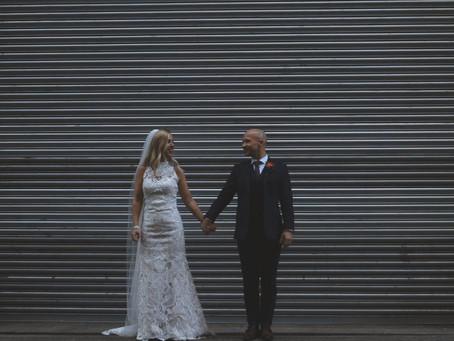 Rachel and Tony's urban wedding!