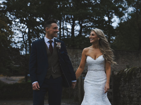 Carla and Dean's gorgeous stormy wedding
