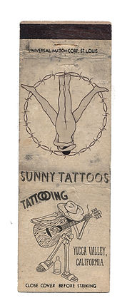 Sunny Tattoos matchbook.jpg