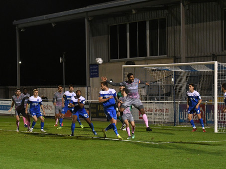 Eastleigh 2-0 Wealdstone - Match Report
